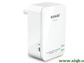 腾达(Tenda)3G150M+便携式路由器家用模式上网设置