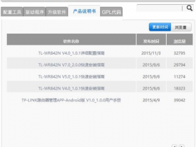 【图解教程】TP-Link TL-WR842N使用说明书下载