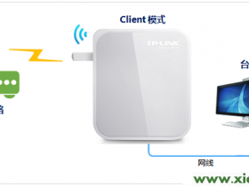 "TP-Link TL-WR710N V2路由器""Client:客户端模式""设置"